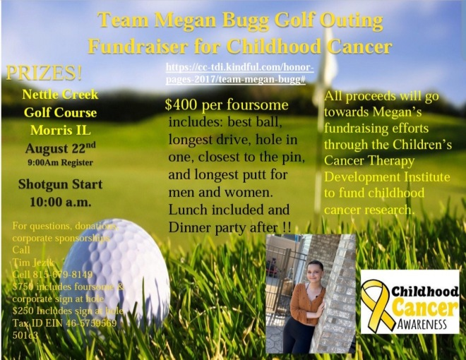 Team Megan Golf Outing Flyer